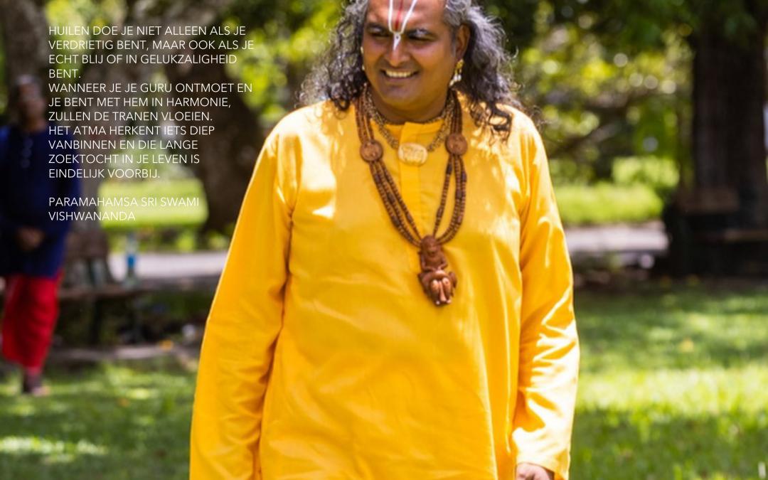 Het geluk je guru te vinden
