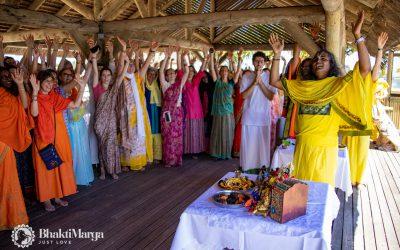 Paramahamsa Viswhananda, pelgrimsreis Mauritius